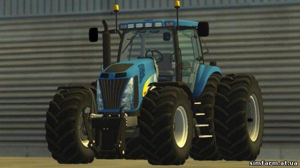 Передние и задние фары трактора МТЗ-80